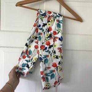 Fabletics floral leggings NWOT